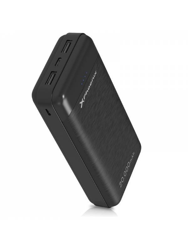 POWERBANK 20000 MAH 2.1A XPHOE NIX 2 X USB TYPEC