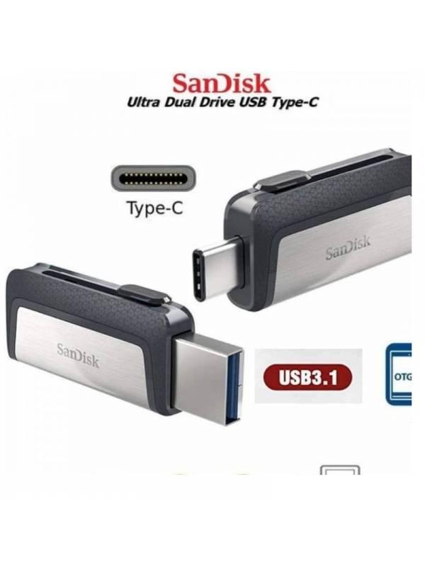 MEMORIA USB 3.1 128GB TYPE-C   DUAL DRIVE SANDISK
