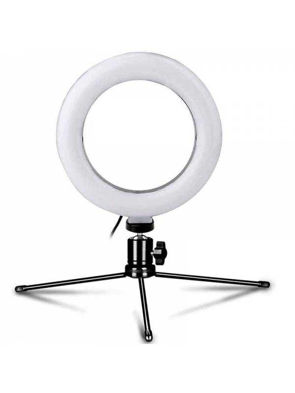 LAMPARA LED  8W ANILLO LUZ     6000K  800lm PLATINET