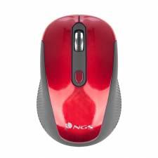 RATON WIRELESS NGS HAZE RED    1600DPI ROJO/NEGRO