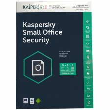 ANTIV. 5LC KASPERSKY SMALL OFF ICE SECURITY 5+1