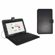 FUNDA 9.7 APPROX TABLET + TEC LADO MICRO-USB NEGRO