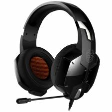 AURI. + MIC 3.5MM GAMING KROM  KOPA PC/PS4 CASCOS NEGRO