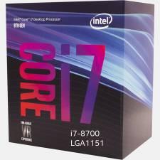 CPU INTEL S-1151 CORE I7-8700  3.2GHz BOX