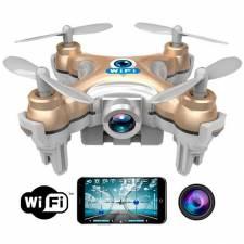 DRON GX-10W MINI WIFI Y CAMARA  SMARTPHONE IPHONE ORO