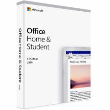 OFFICE 2019 HOGAR Y ESTUDIANTE  SP CAJA 1LC PC/MAC