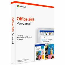 OFFICE 365  PERSONAL 32/64BIT  PC/MAC 2019 1 AÑO CAJA