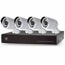 CAMARA SEGURI. CCTV KIT CONCEP TRONIC 4 CAMARAS 8 CANALES
