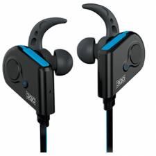 AURI. + MIC BT 3GO TREK2 DEPOR TIVOS NEGRO/AZUL  IN EAR