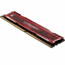 DDR4  8GB/3200 CRUCIAL BALLIST IX ROJA