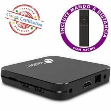 SMARTV LEOTEC TV BOX GCX 432   4K HDR CHROMECAST ANDROID 9