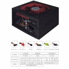FUENTE 550W/25A APPROX NEGRA