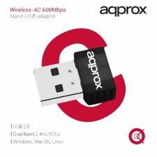 WIRELESS USB  600MPBS APPROX   NANO AC USB 2.0