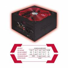 FUENTE 800W/62A 85% APP800PSV2 PSU APPROX GAMING