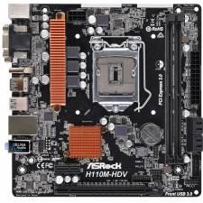 PB S-1151 H110   ASROCK H110M- HDV DDR4 2133MHZ
