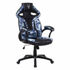 SILLA GAMING WOXTER STINGER ST ATION AZUL EJERCITO