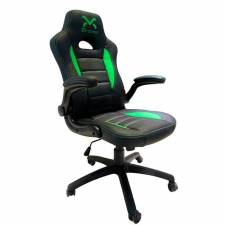SILLA GAMING 3GO TROUN VALUE    DROXIO NEGRO/VERDE