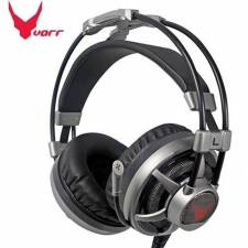AURI. + MIC 3.5MM VIBRATION    HEADSET GAMING OMEGA NEGRO