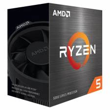 CPU AMD S-AM4 RYZEN 5 5600X    3.7GHZ  TURBO 4.6GHZ BOX
