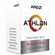 CPU AMD AM4 ATHLON 3000G 3.5GH Z VEGA3 GRAPHICS
