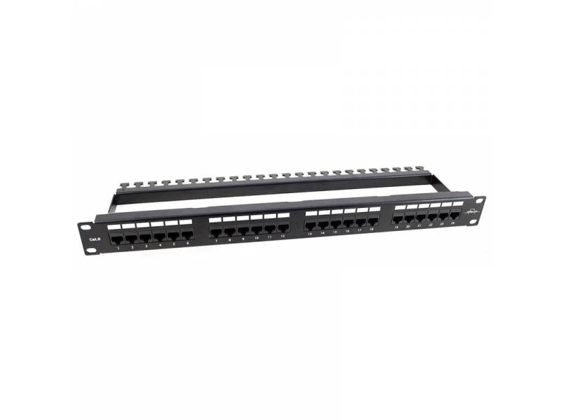 PATCH PANEL 24 PTOS UTP CAT.6   262240-C6