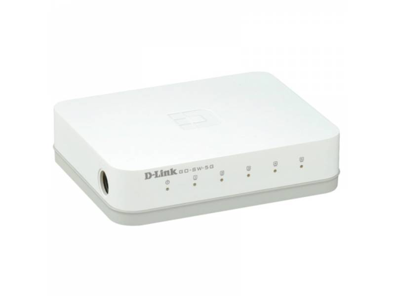 SWITCH GIGA  5PTOS DLINK GO-SW -5G