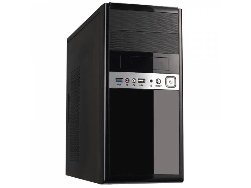 CAJA MICRO ATX UK-6011 NEGRA   USB 3.0/2.0 CON/FUENTE