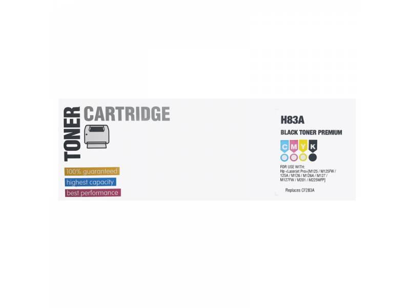 TONER INK HP CF283A 83A NEGRO