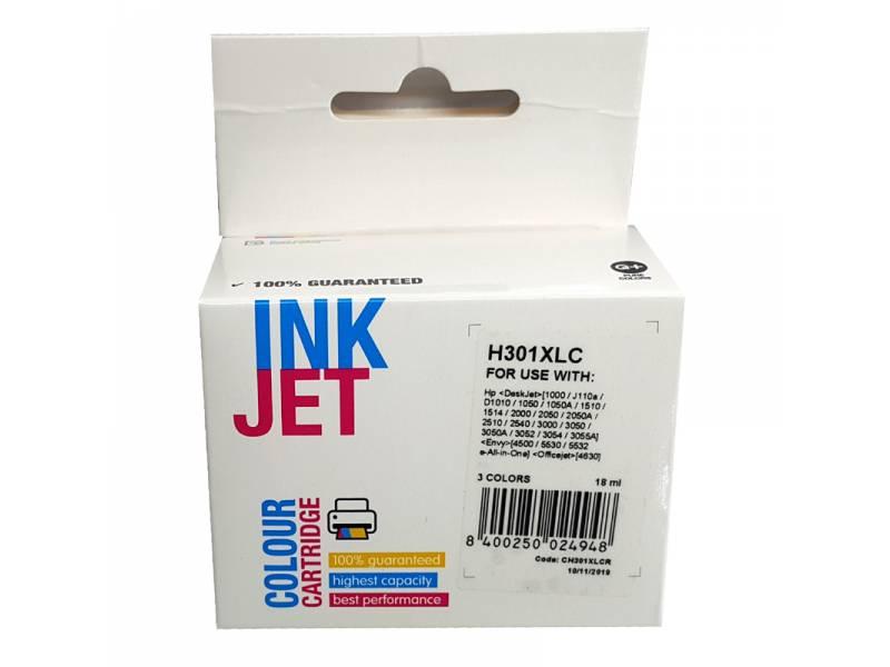CARTUCHO INK HP H301XLC CH564E E/CH562EE N301XL TRICOLOR